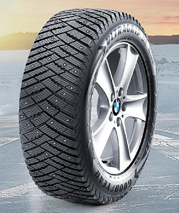 шипованая зима Goodyear UltraGrip Ice Arctic SUV