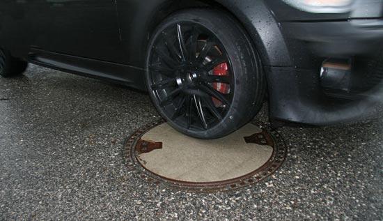 Тесты шин для легковых авто: Комфорт Bridgestone Potenza S001, Continental ContiPremiumContact 5, Marangoni Mythos 225/35 R18 Auto Bild Sportscars 2013