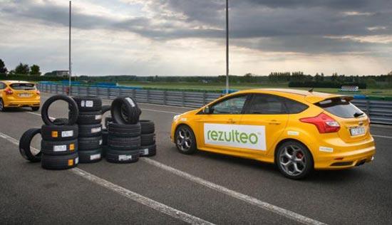 Тест драйв шины для летней погоды: Управляемость на сухой поверхности Hankook Ventus S1 Evo2 K117, Michelin Pilot Sport 3, Nexen N8000, Pirelli PZero 235/40/18 Motorsport 2013
