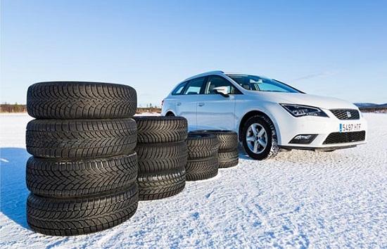 Тестирование колеса: зимних моделей Bridgestone Blizzak LM-32, Continental ContiWinterContact TS 850, Dunlop SP Winter Sport 4D 205/55 R16 Auto Zeitung 2014
