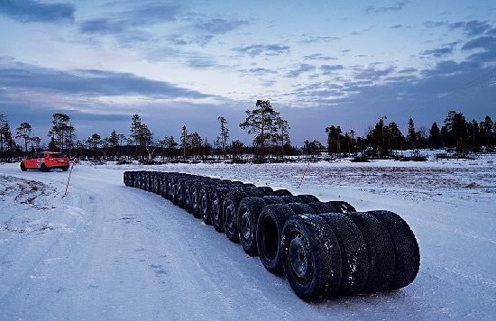 Тест шины: зима Kumho I Zen KW31, Michelin X-Ice North 3, Michelin X-Ice XI3, Nokian Hakkapeliitta 8 205/55/16 Test World 2014