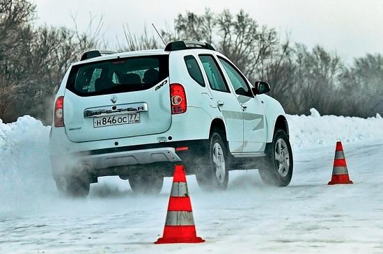Сравнение покрышки: Время разгона на льду Bridgestone Blizzak Spike-01, Continental Conti4x4IceContact, Cordiant Snow Cross 215/65 R16 За рулем 2014