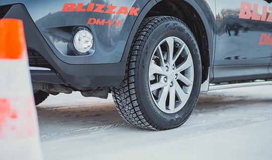 Обзор колеса: Bridgestone Blizzak DM-V2 За рулем 2014