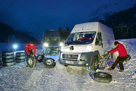 Характеристики покрышки: коммерческих 225/75 R16C Continental VancoWinter 2, GT Radial Maxmiler WT, Nokian WR C Cargo, Semperit Van Grip 2, Syron Everest, Toyo H09