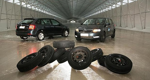 Сравнительный тест шин: Hankook Winter I*Cept IZ W606 , Michelin X-Ice XI3, Nokian Hakka Green 185/65 R15 Автомобили Казахстан 2015