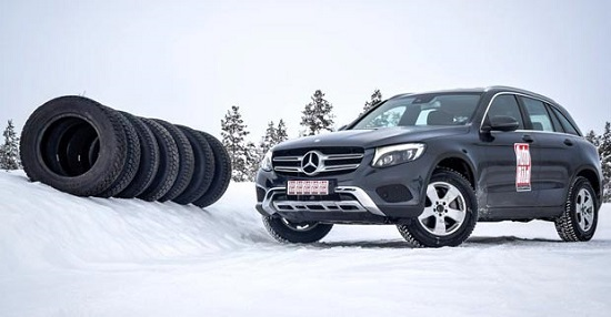 Сравнительные характеристики автошин: Bridgestone Blizzak DM-V2, Hankook Dynapro I*Cept RW08 235/65/17 Auto Bild Беларусь 2016