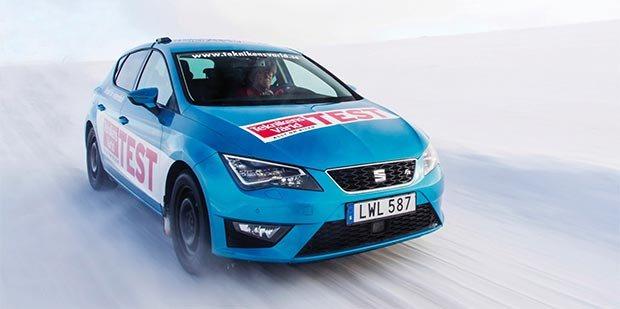 Тест шины: Continental WinterContact TS 860, Goodyear UltraGrip Ice 2 205/55 R16 Teknikens Varld 2016