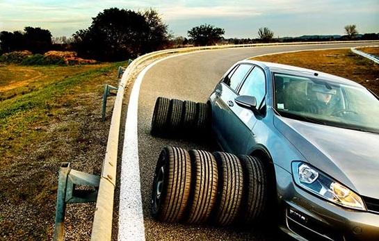 Тесты шин для лета: Continental ContiSportContact 5, Michelin Pilot Sport 4 245/40 R18 Auto Bild 2017