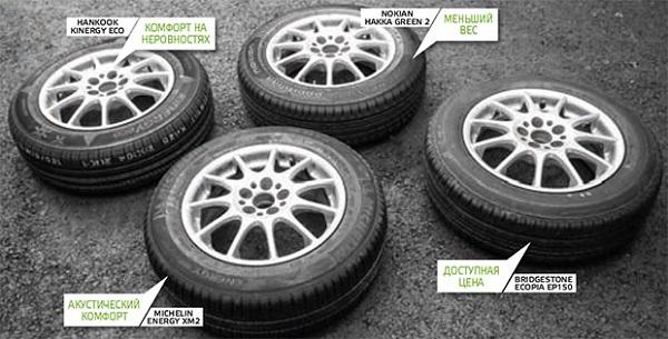 Сравнительный тест колеса для лета: Bridgestone Ecopia EP150, Hankook Kinergy Eco K425 185/65/15 Автомобили Казахстан 2016