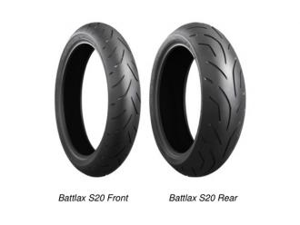 Шины Bridgestone Battlax S20