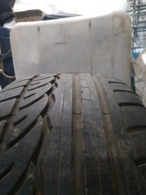 Dunlop SP Sport 01 245/40 ZR19 98Y XL остаток 6 мм
