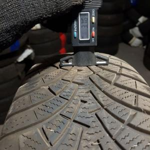 Goodyear UltraGrip 9 195/65 R15 91T остаток 3 мм