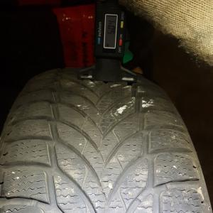 Goodyear UltraGrip Ice 2 195/65 R15 95T XL остаток 5 мм