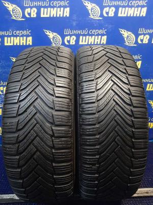 Michelin Alpin 6 205/55 R16 91H остаток 6 мм