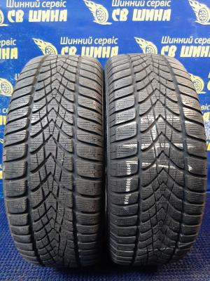 Dunlop SP Winter Sport 4D 205/55 R16 91H остаток 7 мм