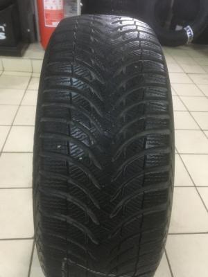 Michelin Alpin A4 205/55 R16 91T остаток 6 мм
