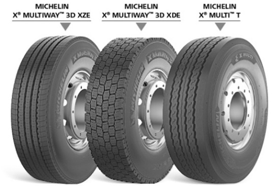 Линейка Michelin X Multi пополнилась моделью для прицепов. Новости ...