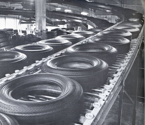 a-general-tire-production-line