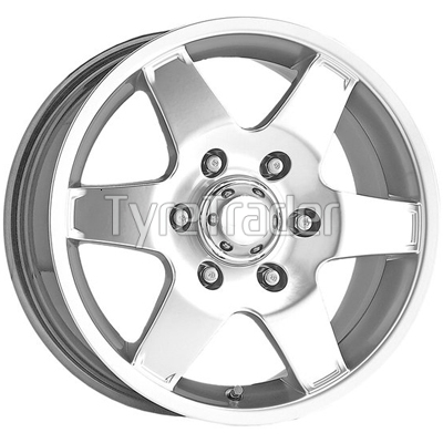 Alessio Cobra 7,5x16 5x150 ET35 DIA110,1 (silver)