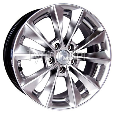 Racing Wheels H-393 8x18 5x112 ET37 DIA73,1 (chrome)