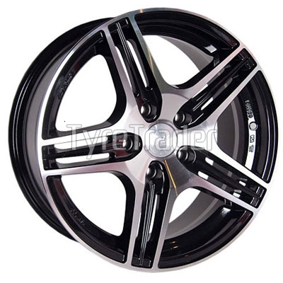 Racing Wheels H-414 7,5x18 5x114,3 ET42 DIA67,1 (BK-F/P)