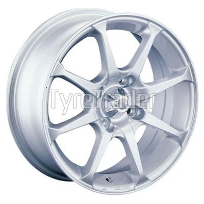 CAM 243A 6x14 4x98 ET38 DIA58,6 (silver)