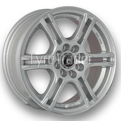 Marcello MSR-006 6x14 4x100 ET35 DIA73,1 (silver)