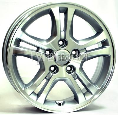 WSP Italy Honda (W2403) Salerno 6,5x16 5x114,3 ET45 DIA64,1 (silver)