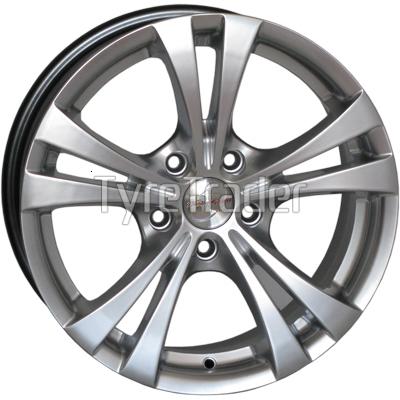 RS Wheels 5066 6,5x15 5x110 ET38 DIA69,1 (silver)