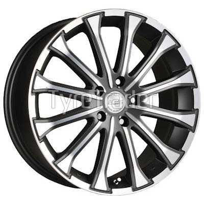 Racing Wheels H-461 7x17 5x108 ET45 DIA67,1 (BK-F/P)