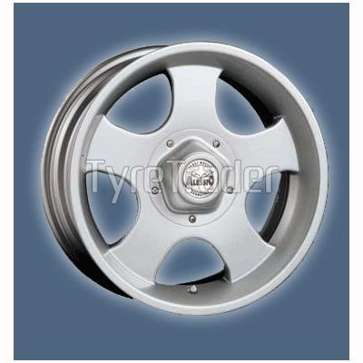 Alessio Daytona 8x16 5x150 ET0 DIA110,1 (silver)