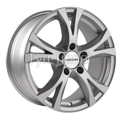 Carmani 9 6,5x16 5x108 ET45 DIA63,4 (silver)