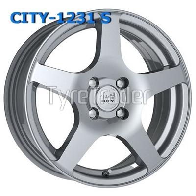 City 1231 6x14 4x98 ET35 DIA58,6 (white)