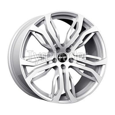 GMP Italia Dynamik 9x20 5x120 ET40 DIA (silver)