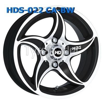 HDS 022 5,5x13 4x98 ET12 DIA58,6 (CA-BW)