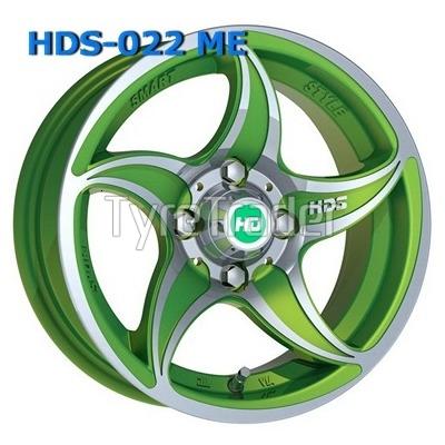 HDS 022 5,5x13 4x98 ET12 DIA58,6 (ME)
