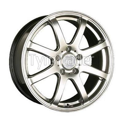 SSW 010 6x15 5x100 ET38 DIA73,1 (silver)