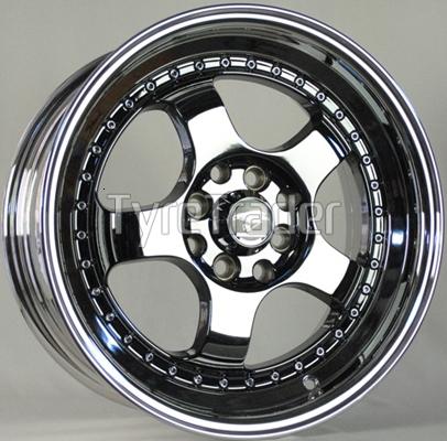 WRC 578 7x16 4x100/108 ET25 DIA73,1 (white)